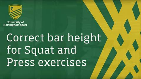 Lifting instruction video - best practice and safety