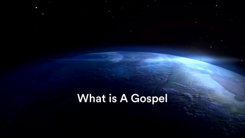 Thumbnail for entry What is a Gospel with Sara Parks
