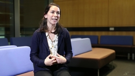 Thumbnail for entry Dr Tamela Maciel, a PhD graduate, talks about her role in science communication.