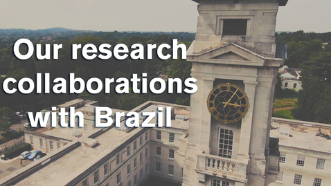 Nottingham working with Brazil to tackle the world's most pressing problems