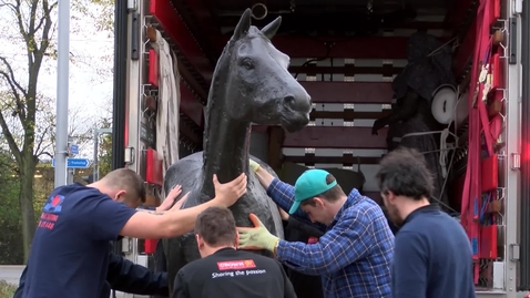 Thumbnail for entry Elisabeth Frink's 'Horse'
