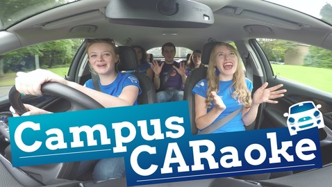 Thumbnail for entry 🚘 Campus CARaoke 🎤 Musicality 🎭