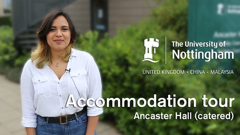 Thumbnail for entry Uni Park Campus - Ancaster Hall (catered accommodation)