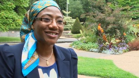 Thumbnail for entry Chevening Scholars - Hadiza Santali Sa'eed from Nigeria