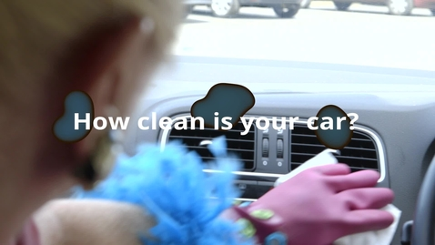 Thumbnail for entry How clean is your car - let's find out!