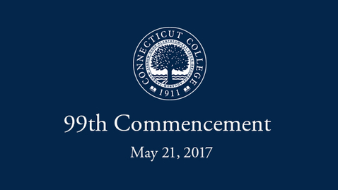 Thumbnail for entry 2017 Commencement