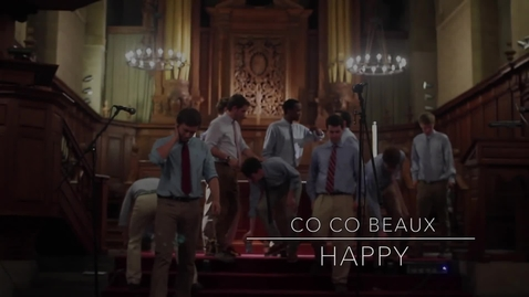 Thumbnail for entry Co Co Beaux - 'Happy' feat. Conn Chords and Katherine Bergeron