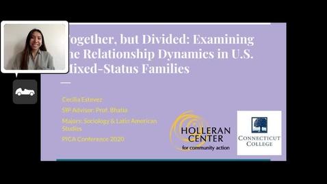 Thumbnail for entry Cecilia Estevez CC'20