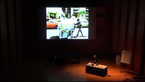 Thumbnail for entry Intersections: the 16th Biennial Symposium on Arts and Technology - Keynote by Krzysztof Wodiczko