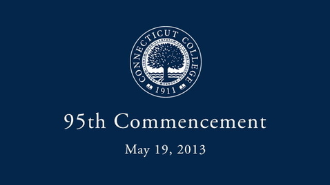 Thumbnail for entry 2013 Commencement