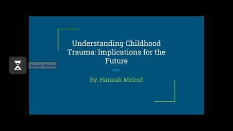 Thumbnail for entry Hannah Melrod CC'20