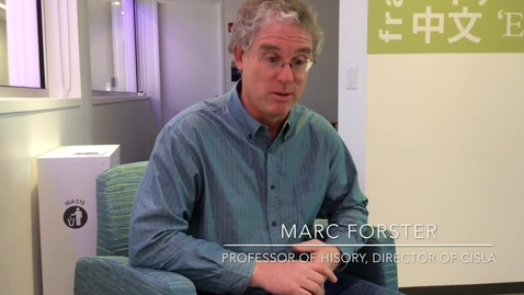 Thumbnail for entry Why Professor Marc Forster speaks many languages