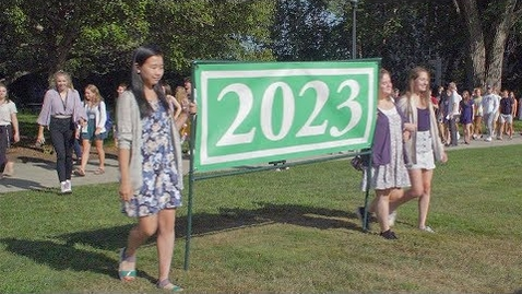 Thumbnail for entry Welcome to Conn: Class of 2023