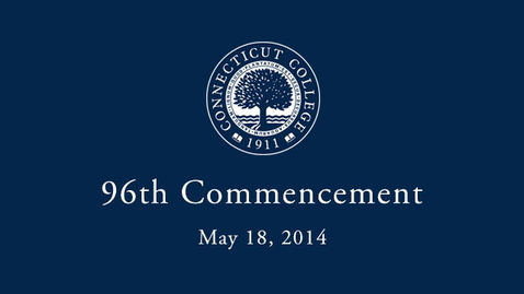 Thumbnail for entry 2014 Commencement