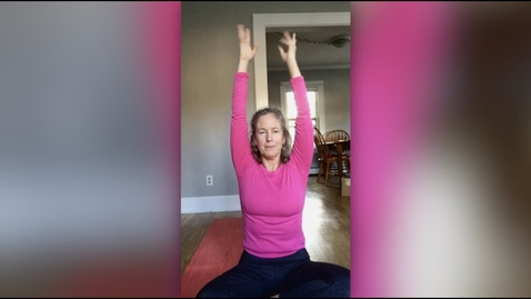Thumbnail for entry  A Hatha Yoga Practice with Ashley Hanson '82