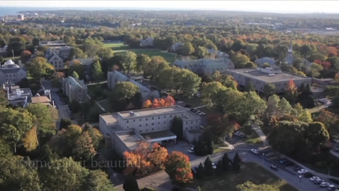 Thumbnail for entry Aerial Tour of Connecticut College