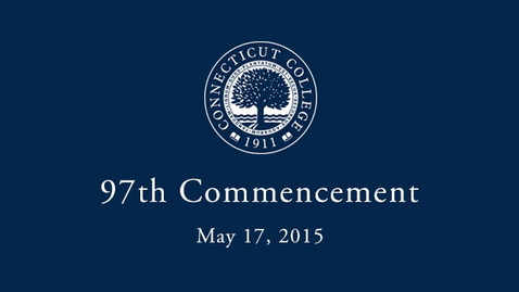 Thumbnail for entry 2015 Commencement