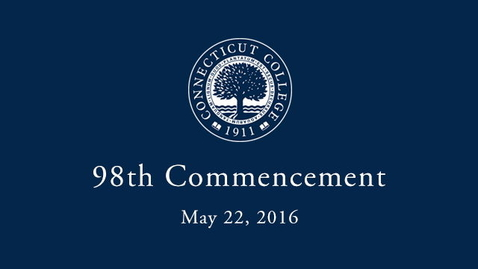 Thumbnail for entry 2016 Commencement