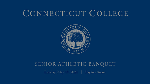 Thumbnail for entry Senior Athletic  Banquet