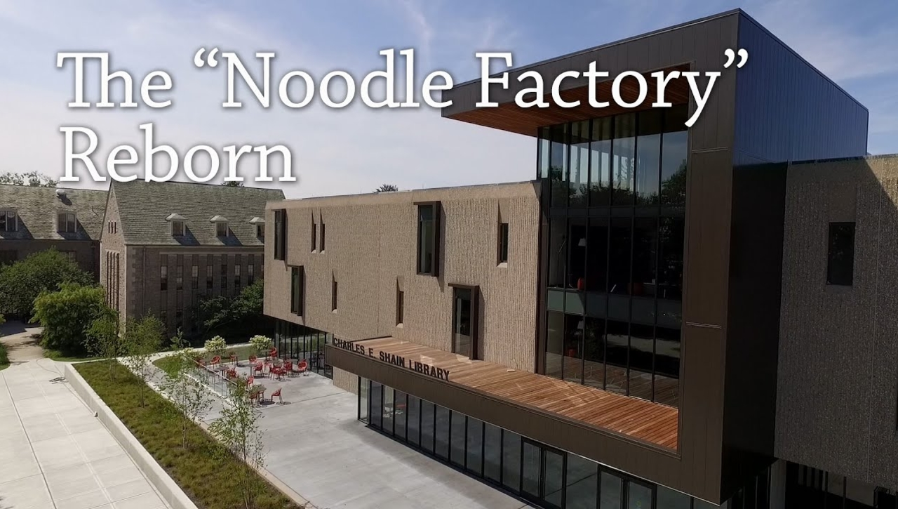 """The Shain Library Renovation: The """"Noodle Factory"""" Reborn"""