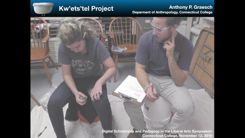 Thumbnail for entry DSPLA 2018 - Kw'ets'tel Project (Anthony Graesch)