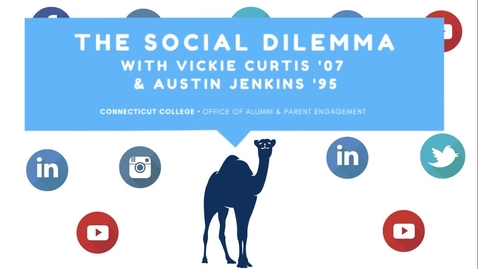 Thumbnail for entry The Social Dilemma: A Conversation with Vickie Curtis '07 & Austin Jenkins '95