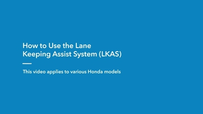 2019 Clarity Plug-In Hybrid | How to Use the Lane Keeping