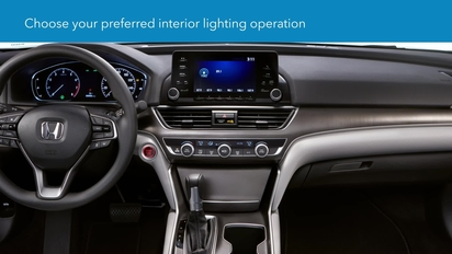 2018 Accord Sedan | How to Customize Interior Light