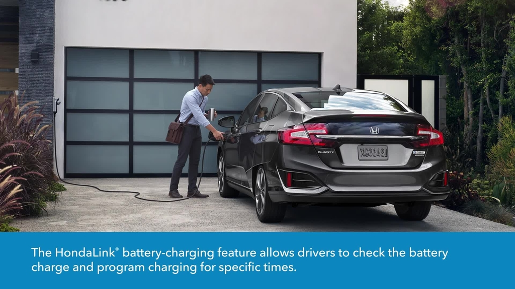 Hondalink For Clarity Plug In Hybrid How To Use The Battery Charge Indicator