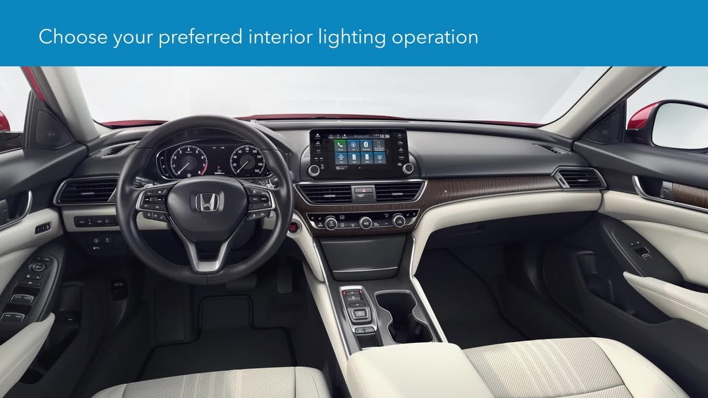 How To Customize Interior Light Operation Display Audio Models