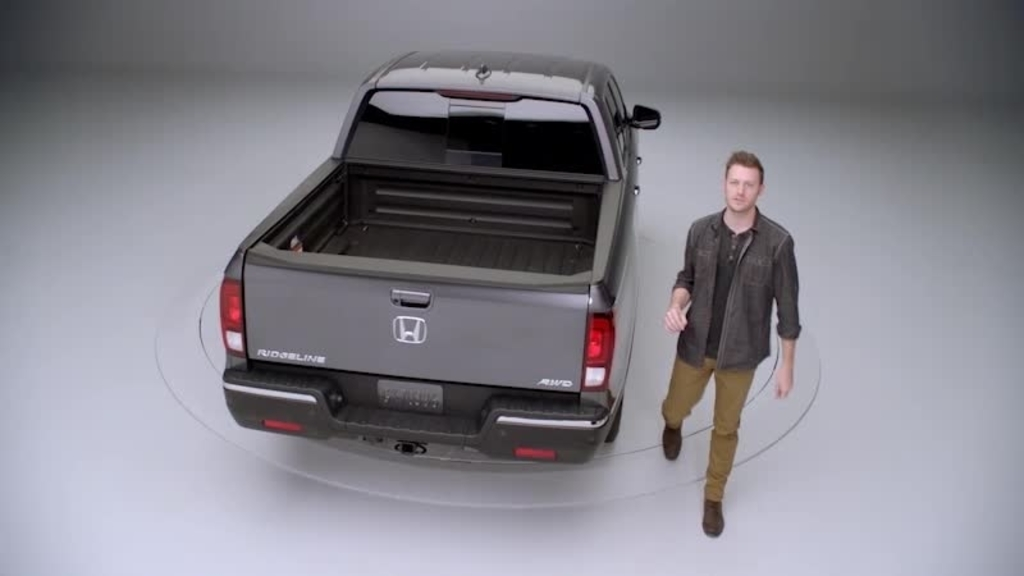 2018 Ridgeline Rtl E Dual Action Tailgate And In Bed Trunk