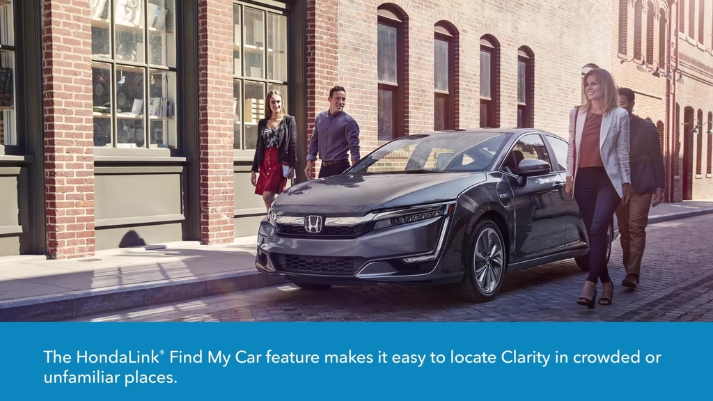 Hondalink For Clarity Plug In Hybrid How To Use The Find My Car Feature