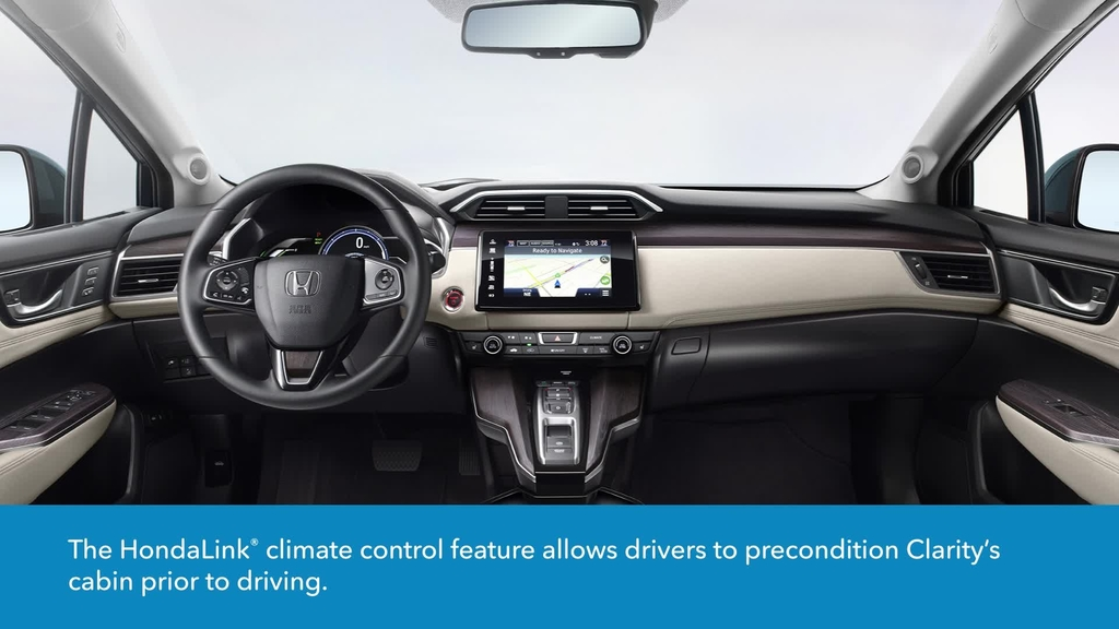 Hondalink For Clarity Plug In Hybrid How To Activate Climate Control Remotely