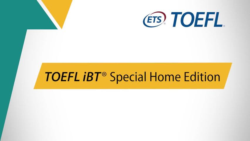 TOEFL iBT Special Home Edition