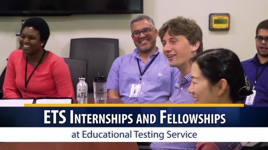 ETS Research: Internship and Fellowship Programs: Summer Internship