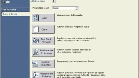 Miniatura para la entrada Asistente de exámenes de Respondus