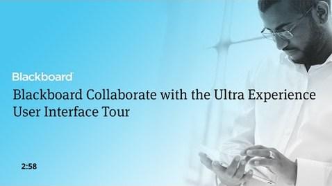 Miniatura para la entrada Collaborate Ultra. Interfaz de alumno y profesor. Inglés