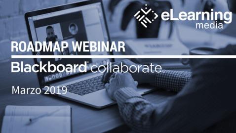Miniatura para la entrada Webinar - Roadmap Blackboard Collaborate: Marzo 2019