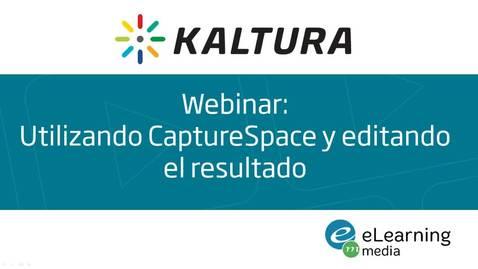 Webinar: Utilizando CaptureSpace y editando el resultado