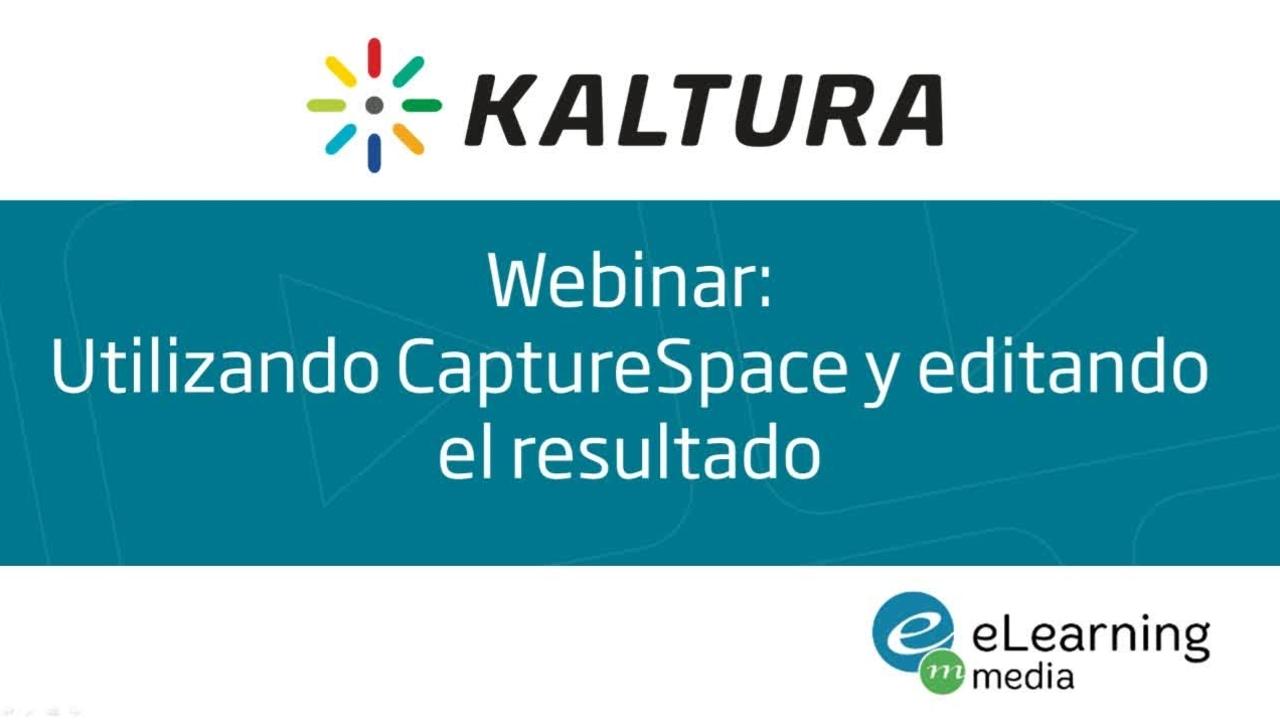Webinar - Utilizando CaptureSpace y editando el resultado