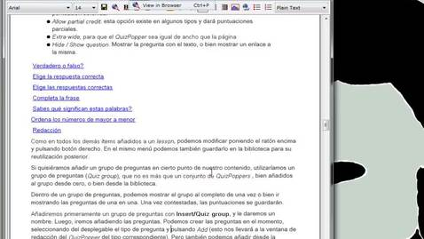 Miniatura para la entrada Softchalk: Guardando elementos en Library