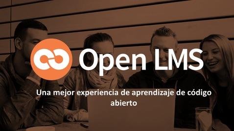 Miniatura para la entrada Conoce Open LMS