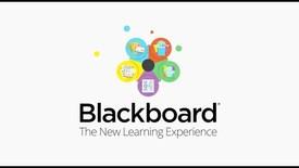 Miniatura para la entrada Blackboard - The New Learning Experience