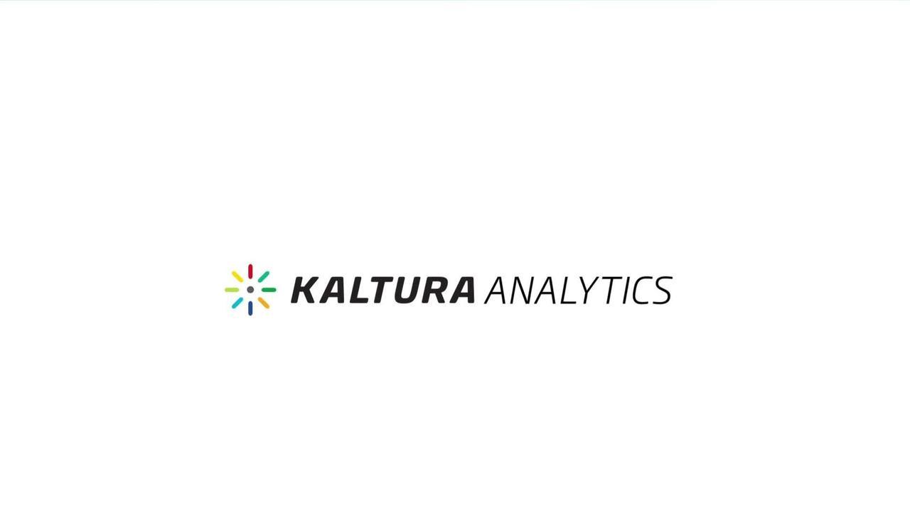 Kaltura Analytics - Da sentido a tus datos de video