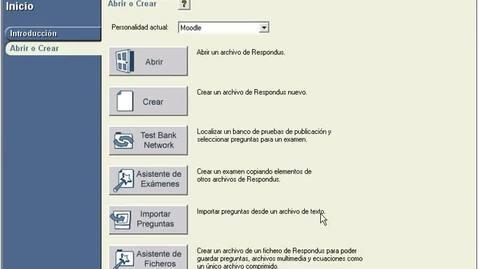 Miniatura para la entrada Migrar exámenes con Respondus