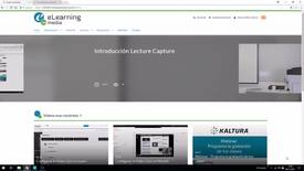 Miniatura para la entrada Grabación programada y en remoto con Lecture Capture