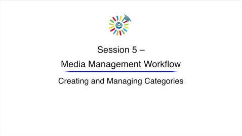 Miniatura para la entrada Video 14 Creating and Managing Categories