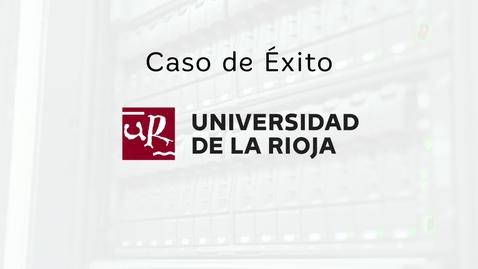 Miniatura para la entrada Caso de éxito Universidad de la Rioja: Blackboard y eLearning Media