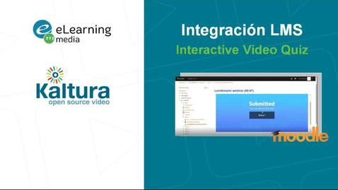 Miniatura para la entrada Interactive Video Quiz Moodle