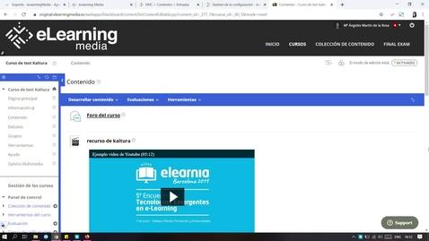 Miniatura para la entrada Cómo habilitar la descarga de vídeos en Kaltura